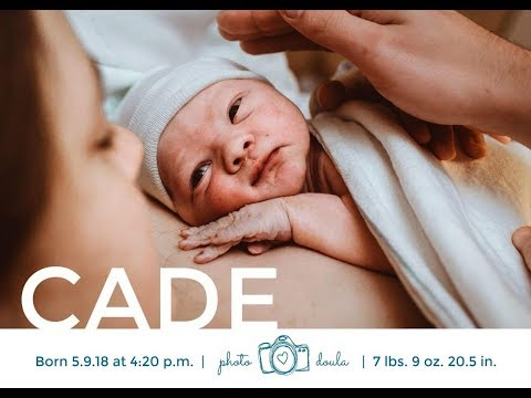 Labor and Delivery Vlog 2018 | Welcome Cade! | Chelsea Jo