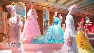 ISRAEL, New Exhibition of Wedding and Evening Gowns. Holon City 2021