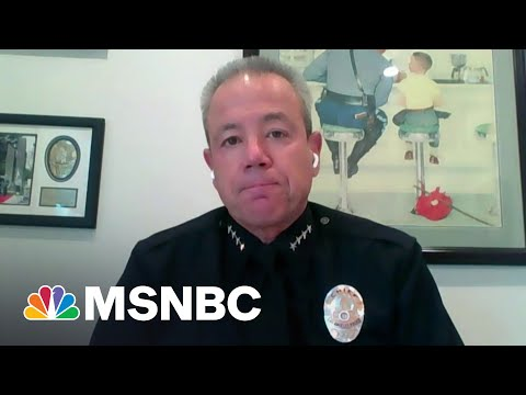 LAPD Police Chief Says City Has Lost A Decade Of Progress Beating Crime
