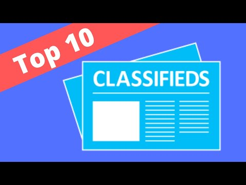 Top 10 Places to Post FREE Online Classified Ads - How do you find the best places to post?