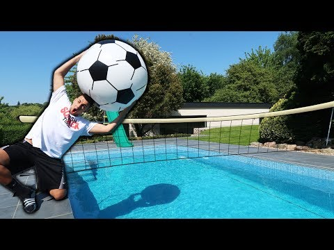 GIANT OLYMPIC POOL CHALLENGES!! (forfeit)
