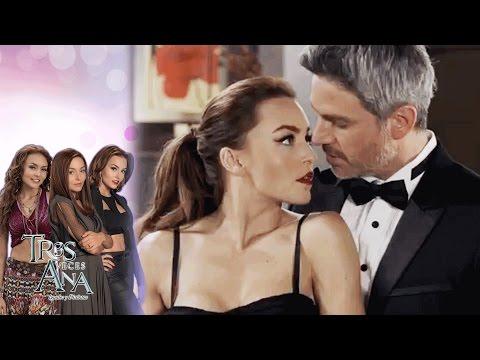 Ana Leticia seduce a Mariano con toda su sensualidad | Tres veces Ana - Televisa