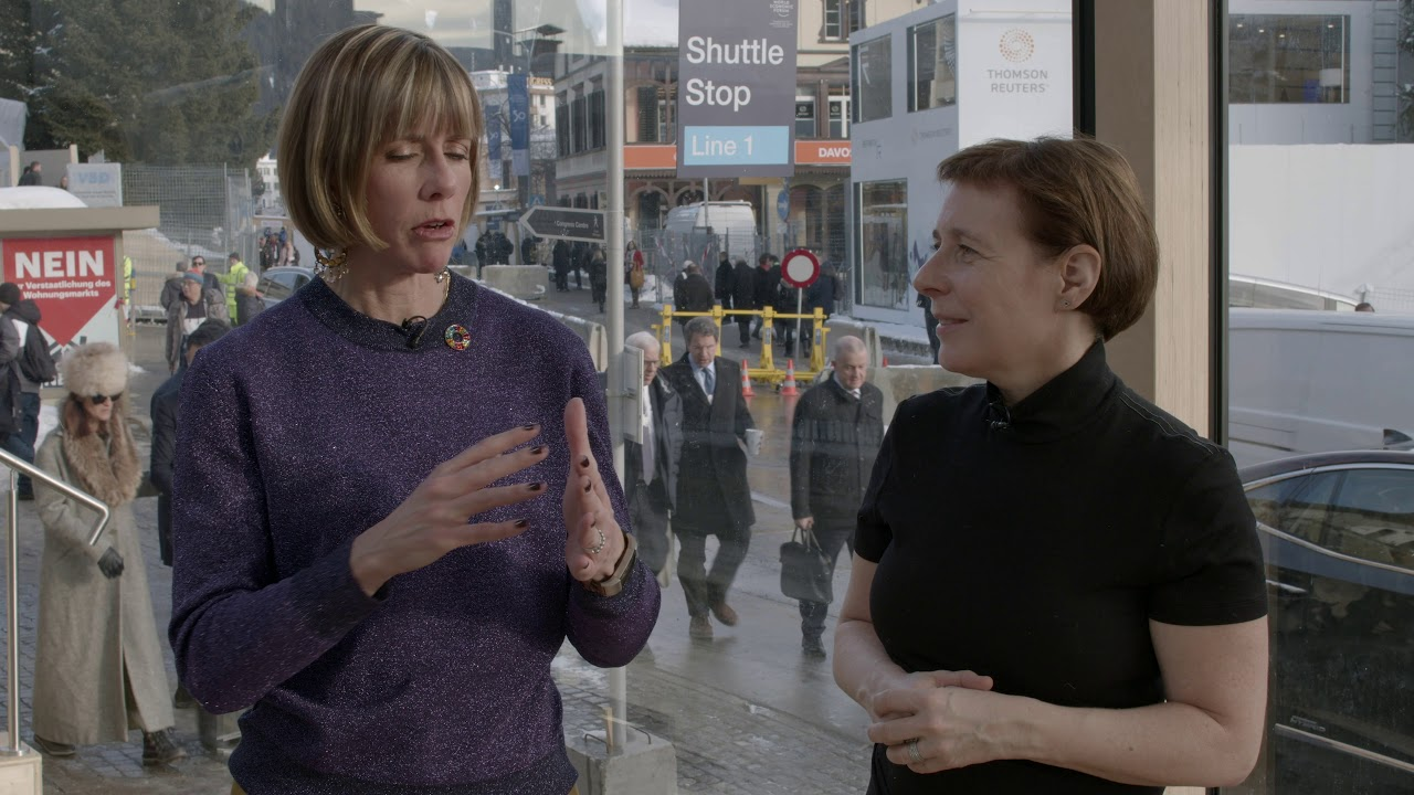 Hub Culture Davos 2020: Christy Tanner, Executive VP and General Manger of CBS News Digital