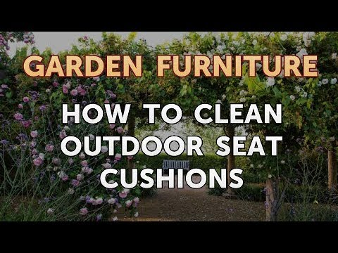 How to Clean Outdoor Seat Cushions