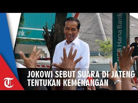 Jokowi Sebut Suara Di Jawa Tengah Akan Tentukan Kemenangan Di Pilpres 2019