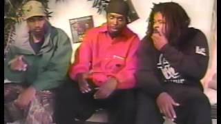 Crazy Sam Interviews GZA & Masta Killa in '95