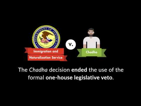 Immigration and Naturalization Service v. Chadha | quimbee.com