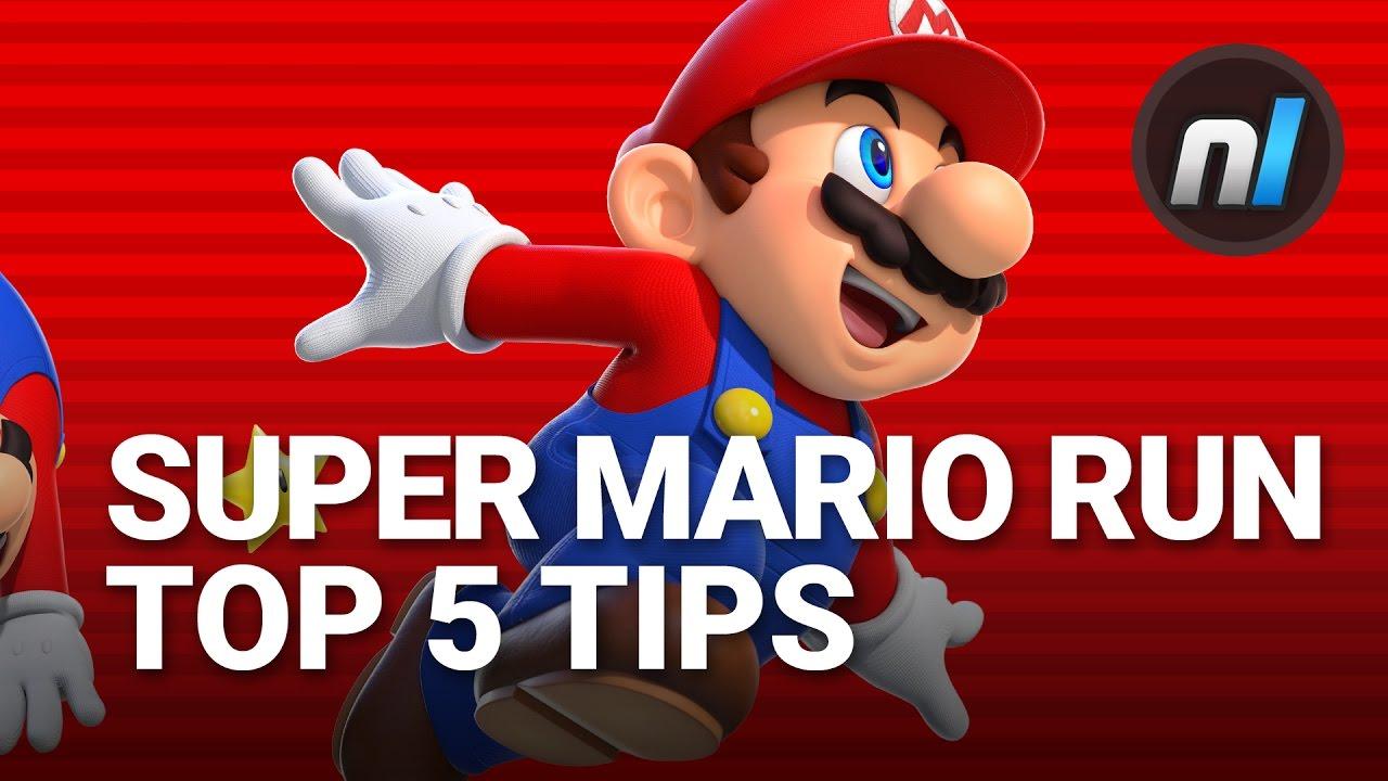 Super mario run spel