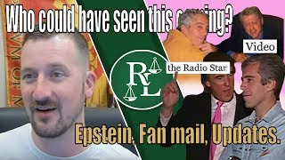 Fan Mail, Epstein Gets Off(ed), and Cody Wilson's Plea Deal