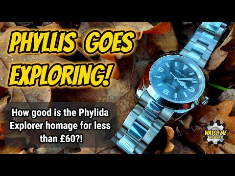 Phylida homage to the Explorer. Does £58 get you a good watch?
