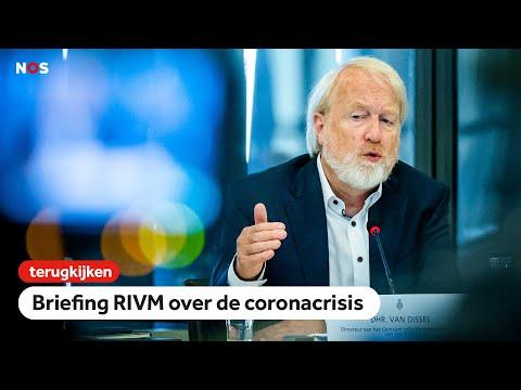 LIVE om 9.30u: Briefing RIVM aan Tweede Kamer