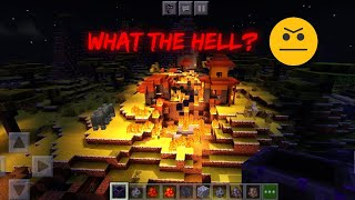 All Scene After Fire Village BY MONSTER (Watching it by Minecart)  - Minecraft