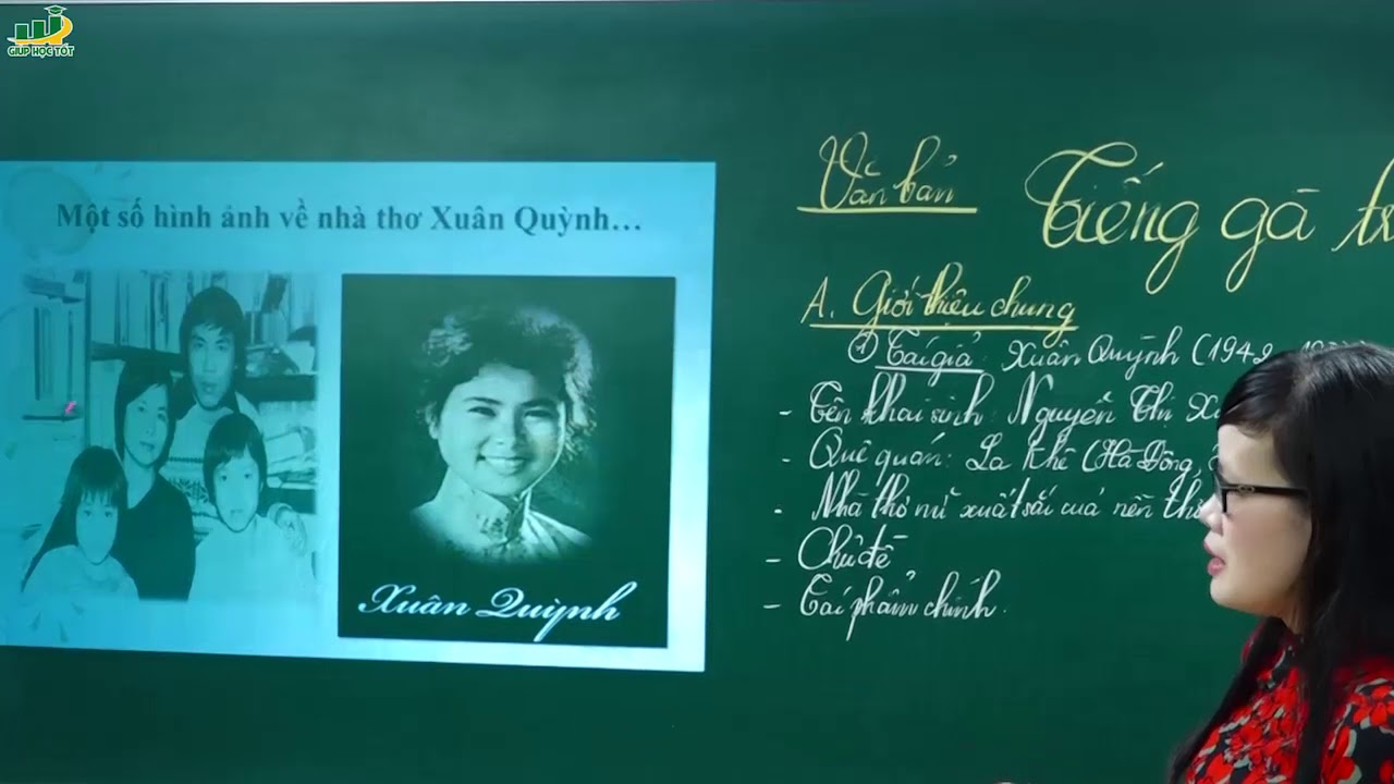 Ngữ Văn lớp 7 - Phân tích bài thơ Tiếng gà trưa ngữ văn lớp 7 (P1)- Cô Lê Hạnh