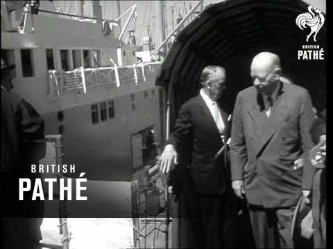 Happy Birthday To Herbert Hoover At 83 (1957)