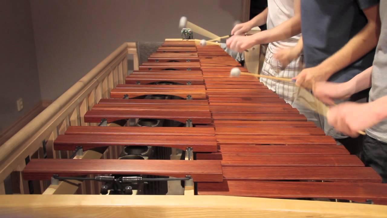 Legend of Zelda - Main Theme on Marimba - YouTube
