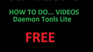 How to install Daemon Tools Lite Free