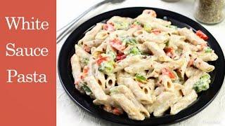 White Sauce Pasta Recipe वइट सस पसत कस बनए रसप  Corona Lockdown Day 5