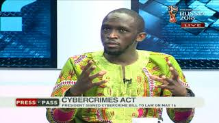 PressPass: Critiquing the new cyber-crime law