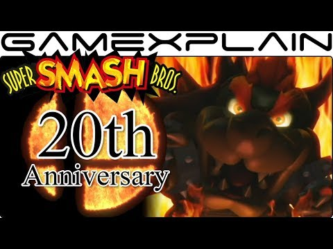 Super Smash Bros. Switch's Logo is Fire! How the Reveal Trailer Celebrates its 20 Year History