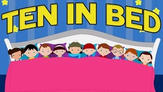 Zehn im Bett | Kinder lieder | Kinder reimt sich | Nursery Rhyme Songs | Baby Rhyme | Ten in the Bed