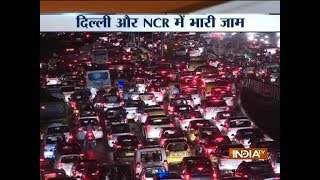 Rain and strong winds lash parts of Delhi-NCR