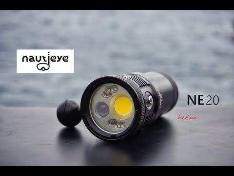 BEST Multi-Use Dive Light?  REVIEW | Nautieye NE20