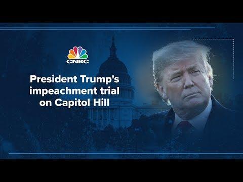 WATCH LIVE: Senate Impeachment Trial Against President Donald Trump – 1/21/2020