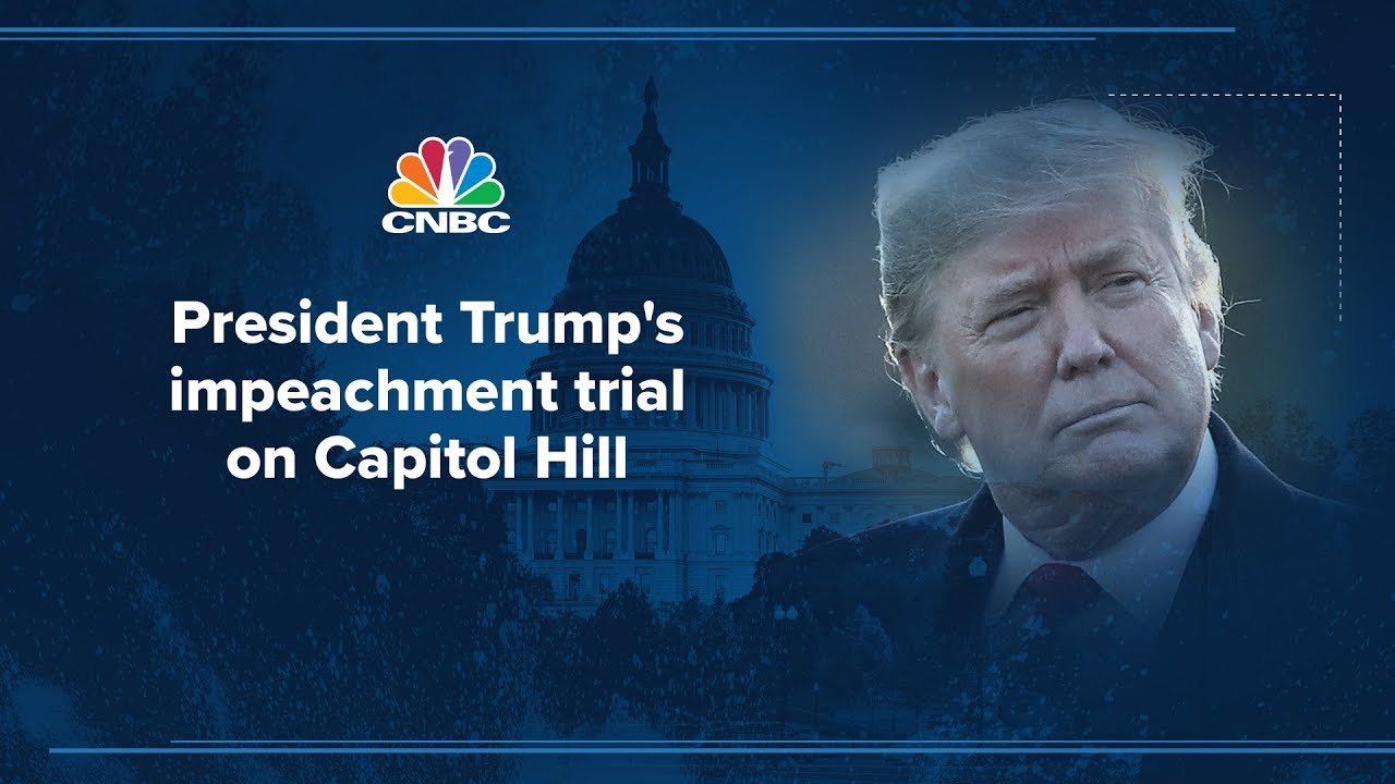 Senate impeachment trial against President Donald Trump – 1/21/2020
