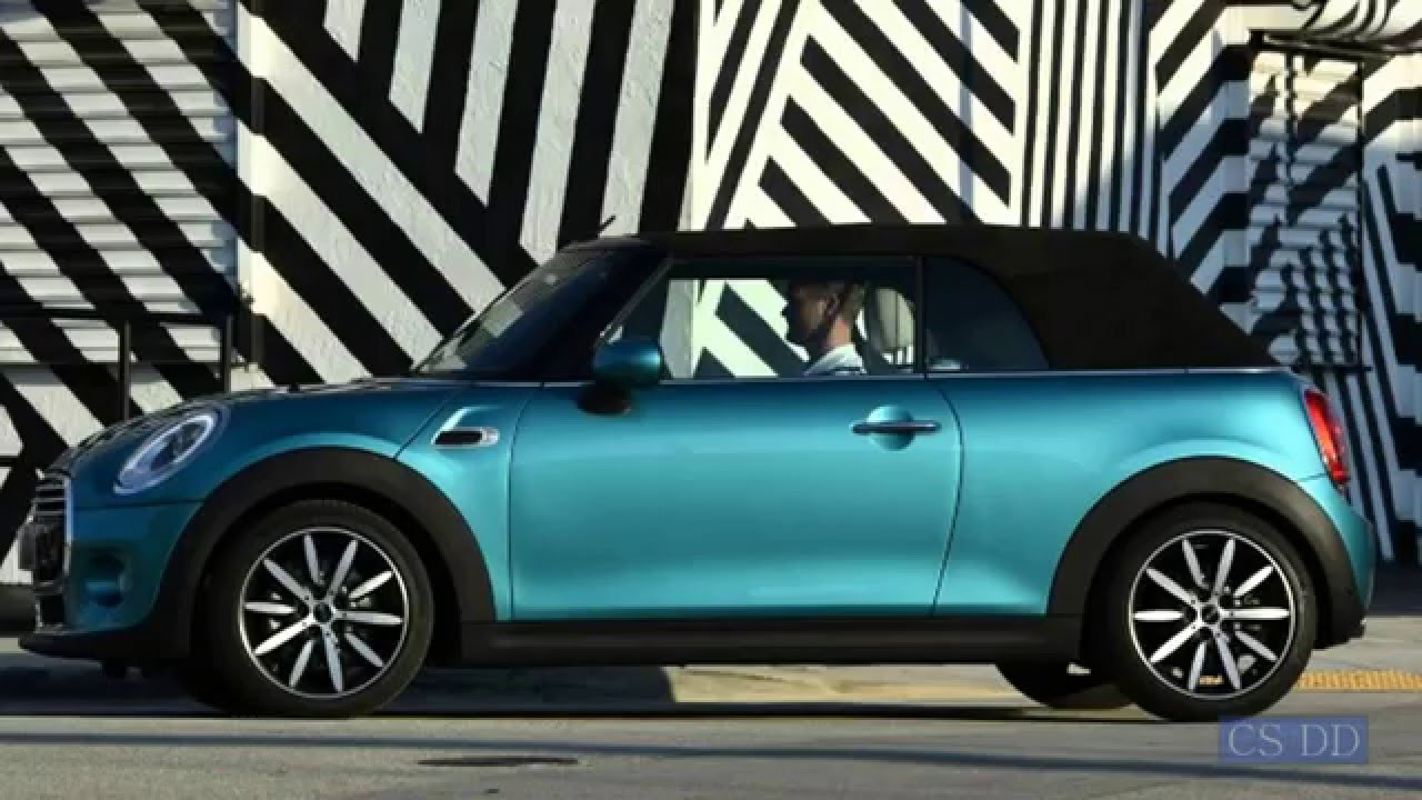 2016 mini cooper convertible exterior interior review specs and price youtube Mini cooper exterior accessories