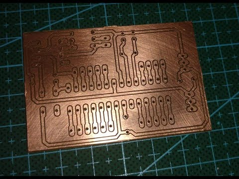 Milling a circuit board with a cheap Arduino T8 CNC