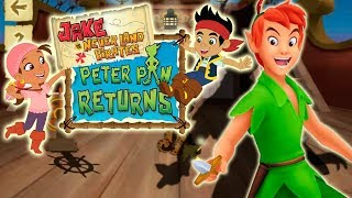 Jake And The Neverland Pirates Game Episodes Shadow Shenanigans Peter Pan (Disny)   Kids TV Channel