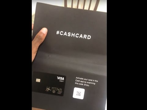 CASH CARD !!!! - Cash Card in mail Review (CashApp) - YouTube