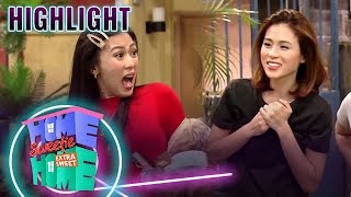 Julie meets her sister Mikee | HSH Extra Sweet