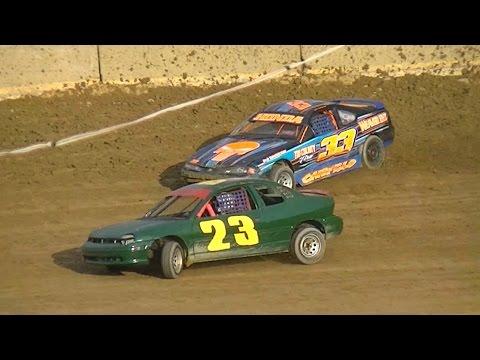 Mini Stock Heat One | Old Bradford Speedway | 8-28-16