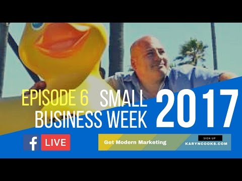 Small Business Week 2017 | Guest: Tony Levine, Big Teaze Toys