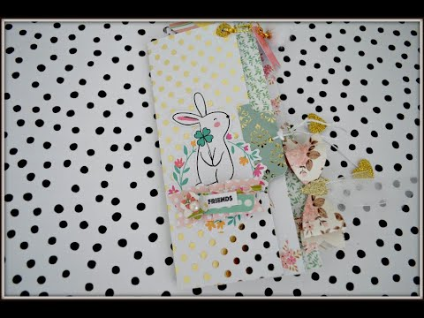 PART 1 -  6x6 Paper | Interactive Pages & Pockets | Flipbook/Mini Album/Junk Journal/TN Insert