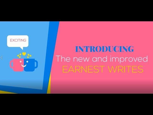 Earnest writes projects