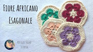 mattonella con fiore africano by Oana Oros Bonacorsi