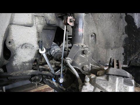 Замена стойки стабилизатора на Дастере (стойка порвалась)