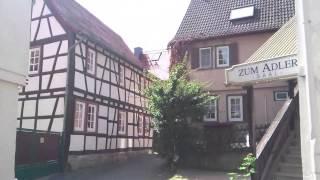 Germany Kronberg old town Старая часть города Кронберг