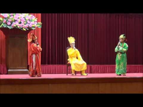Đội tuyên truyền ATGT thị xã Quảng Yên dự thi Hội thi ATGT tỉnh năm học 2016-2017