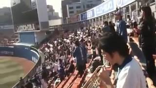 20100311 横浜スタジアム オープン戦 9回裏0-0 1アウト二塁 バッター高...