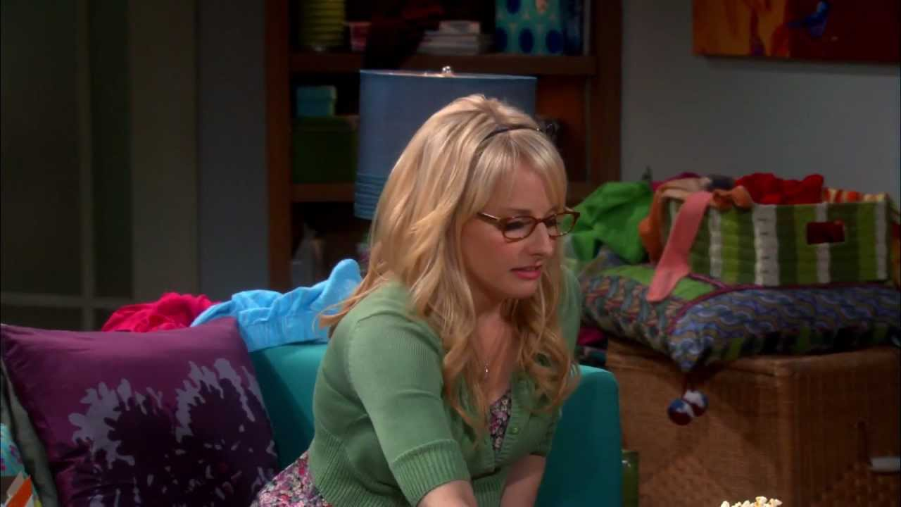 the big bang theory - amy gets a bikini wax and bernadette dries off