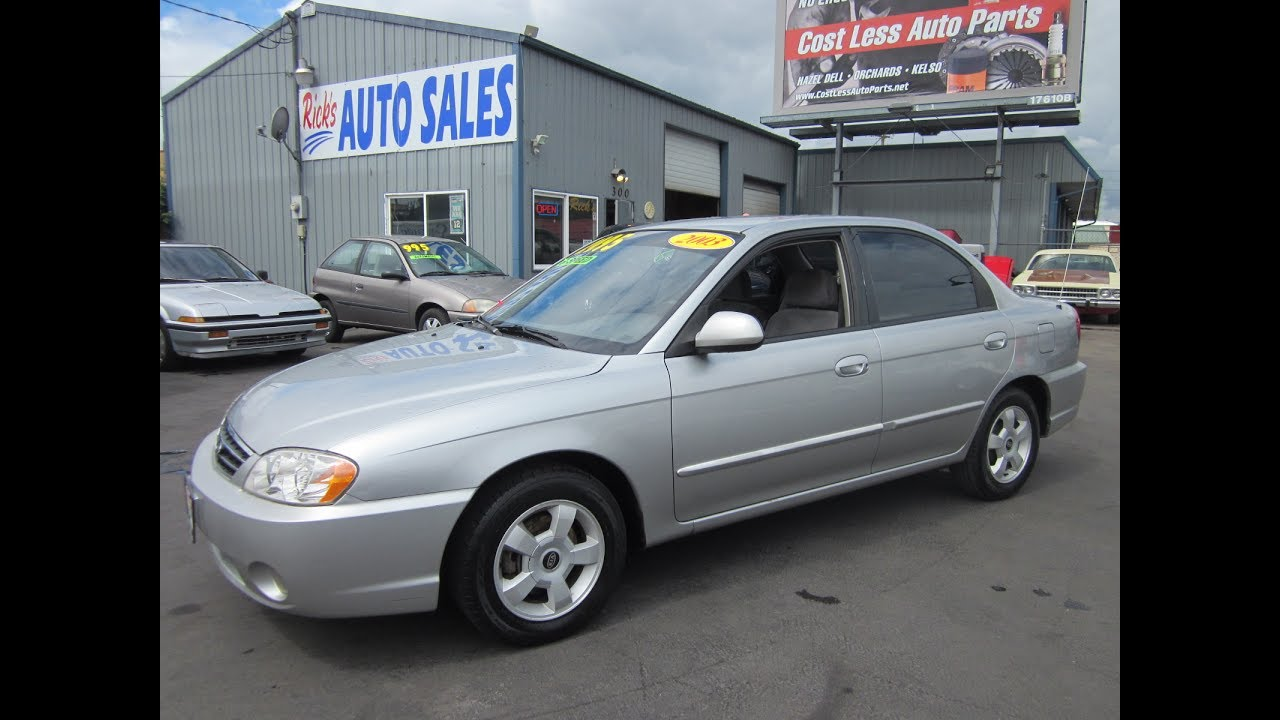 2003 Kia Spectra Ls Sedan Sold Youtube