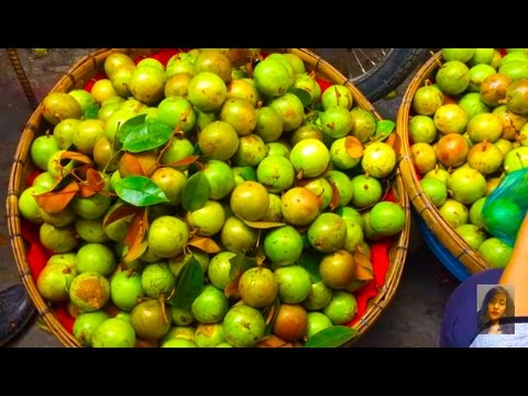 Asian Street Food, Art Of Living In Cambodian Market, Daily Life And Food In My Village