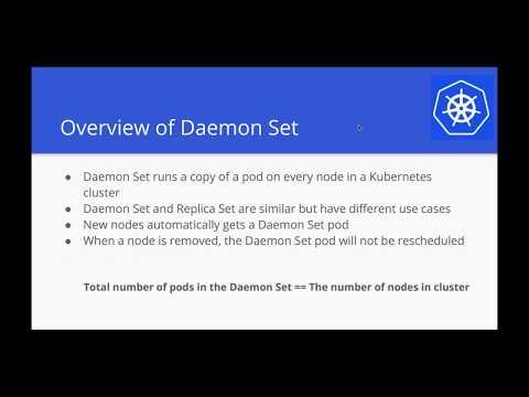 Kubernetes Webinar Series - Exploring Daemon Sets and Jobs