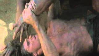 Tarzan The Ape Man(hot ass fighting scene)