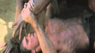 Tarzan The Ape Man(hot ass fighting scene)