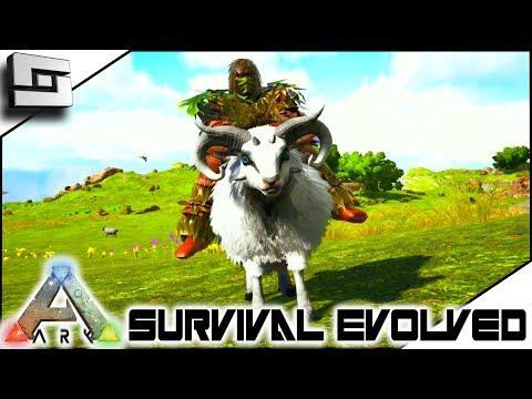 ARK: Survival Evolved - OVIS TAMING / BREEDING! E8 ( Ark Ragnarok Map )
