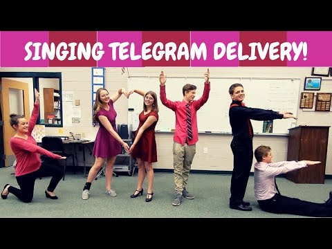 💖Singing Telegrams for Valentine's Day💖